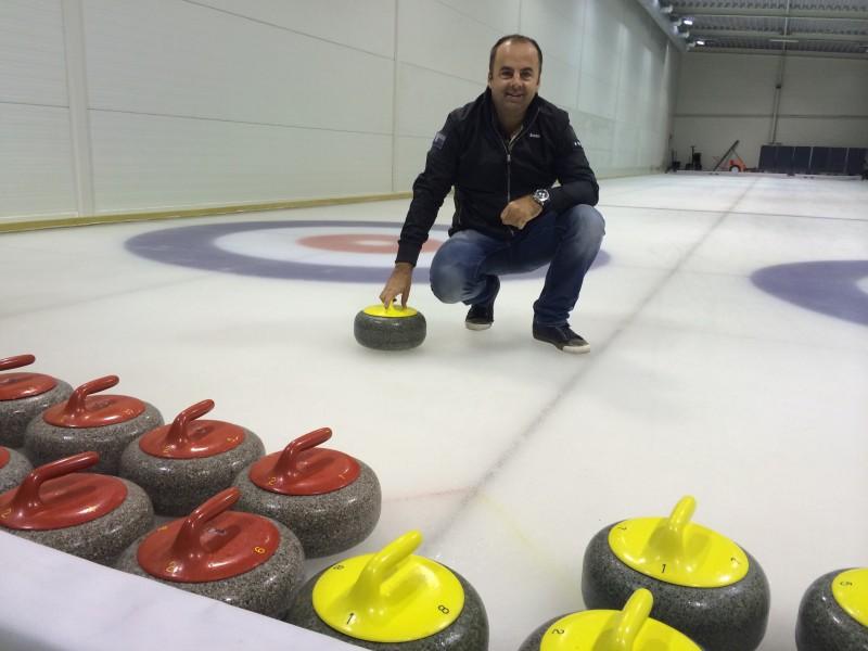 Curlingovy turnaj pre VIP klientov spoločnosti Nubium. 17.máj.2014. Bratislava.