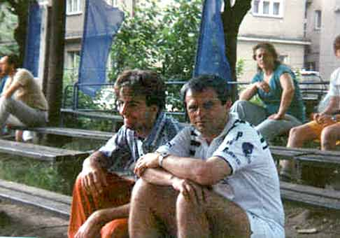 S hercom Milanom Kňažkom na tenisovom turnaji.