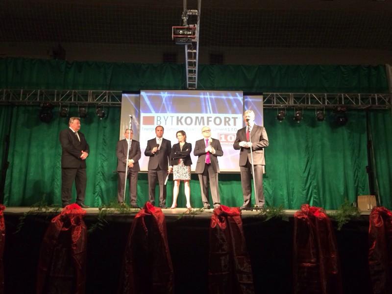 10.rokov spoločnosti Bytkomfort v hale Milenium. 14.novembra.2013. Nove Zámky.