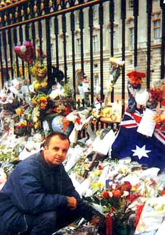 V londýne krátko po smrti princeznej Diany