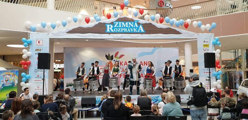 Kaufland detsky festival v Bory mall. 8.februar, 2020 Bratislava.