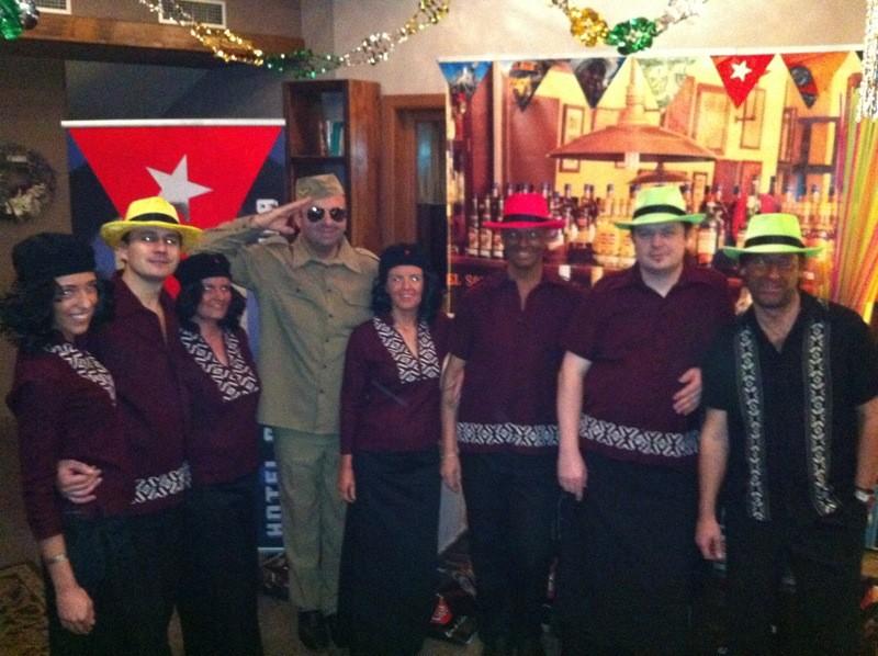 Silvester 2011 v štýle Cuba v hoteli Galileo. 31.12.2011, Donovaly.