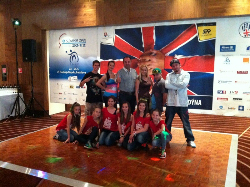 Slovakia open 2012. Slovenský paralympijský výbor. Street dance academy. 26. mája 2012. Bratislava.