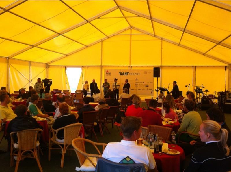 Golfový turnaj HANT Trophy 2012. Vyhlásenie výsledkov. 10.júna 2012. Skalica.