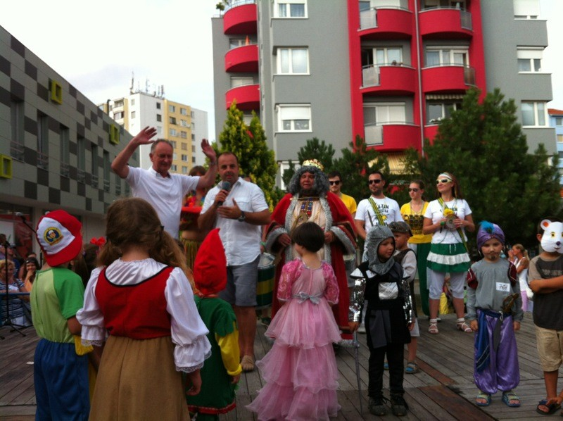 16.ročník Veľkeho letného seneckého karnevalu. 29. júna 2012. Senec.