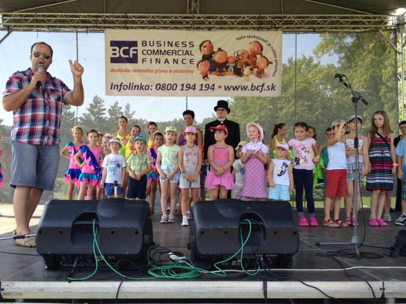 Huraaaaa prazdniny so spoločnosťou BCF. 1. júl 2012. Banská Bystrica.