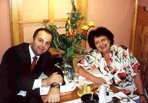 Helena Růžičková a ja. Však sa podobáme?