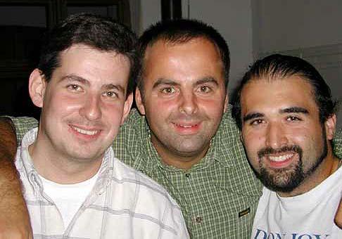 S dobrými priateľmi Patrikom Hermanom a kúzelníkom Talostanom.