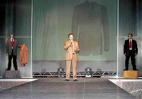 Marco Mirelli by Mimi, najkrajšia módna show ktorú som moderoval v štúdiu Koliba.