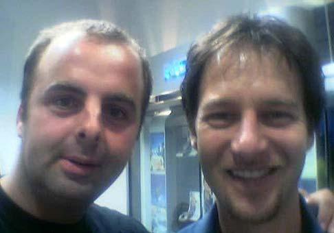 ...s Paľom Haberom - sept. 2002