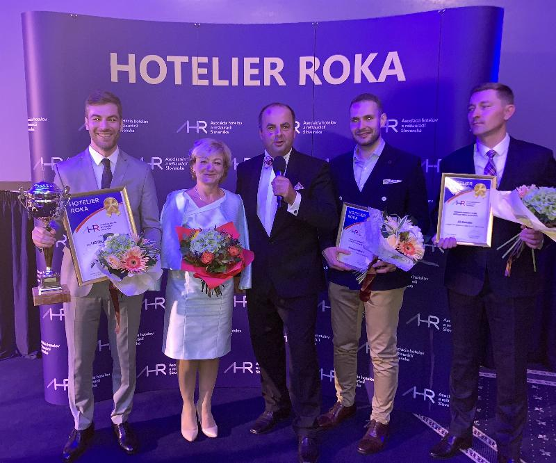 25.rokov Asociacie hotelov a reštauracii SR a vyhlasenie vysledkov ankety Hotelier roka 2018. 9.oktober 2018 Stary Smokovec