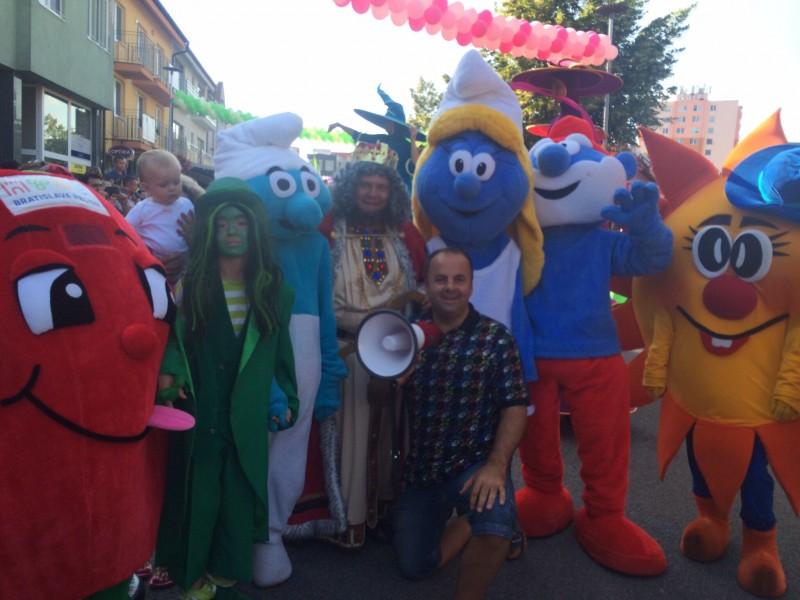 Velky letny karneval už 18 rokov na Slnečnych jazerach. 27.jún.2014.Senec.