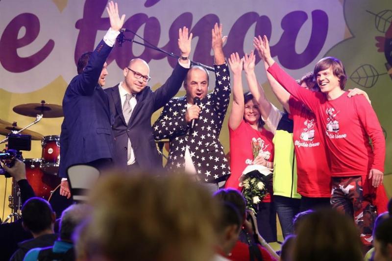 9.ročník benefičného podujatia Objatie tonov v športovej hale v Leviciach. 27.januar 2019 Levice