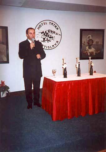 Dražba a ochutnávka Tokajských vín Ostrožovic ročník 1983