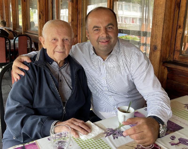 Jan Zachara najstarsi slovensky olympijsky vitaz z roku 1952 Helsinky. Boxer. 29.augusta 2021 Uhrovec