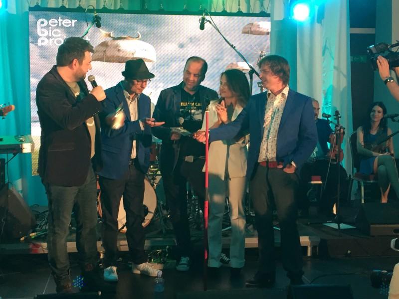 Krst CD Peter Bič projekt - Just a story. 29.april.2015. Bratislava.