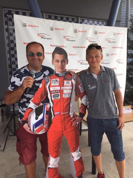 Seat racing day s Maťom Homolom na Slovakia Ringu. 25. Júl 2015. Orechová Potôň.