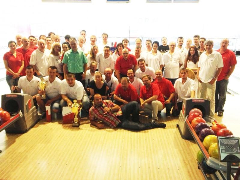 Bowlingový turnaj spoločnosti Wienerberger Slovenské tehelne v Bowlingovom národnom centre. 16. máj. 2013. Bratislava.