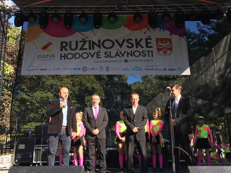 Ruzinovske hody. 30.september, 2018. Bratislava.