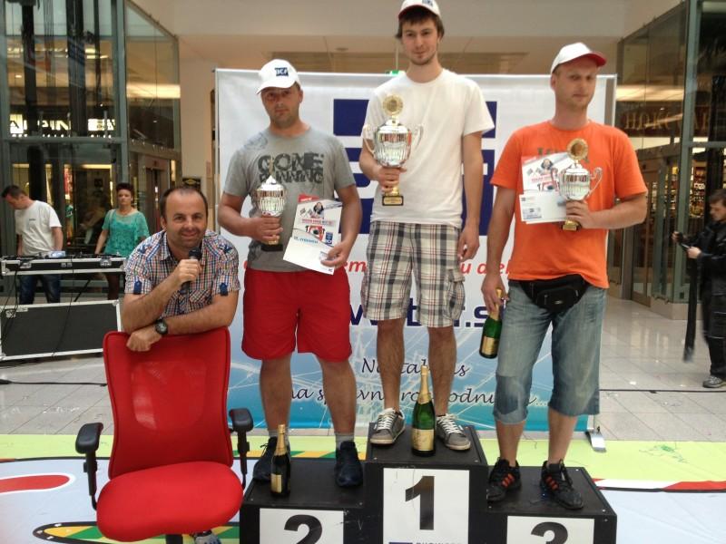 Majstrovstvá v jazde na kancelárskej stoličke BCF S1. Víťazi.