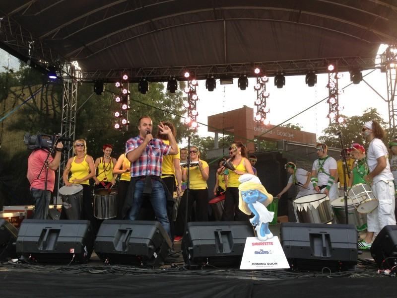 Najväčší karneval na Slovensku navštívi viac ako 15 tisic ľudí. 28.júna.2013. Senec.