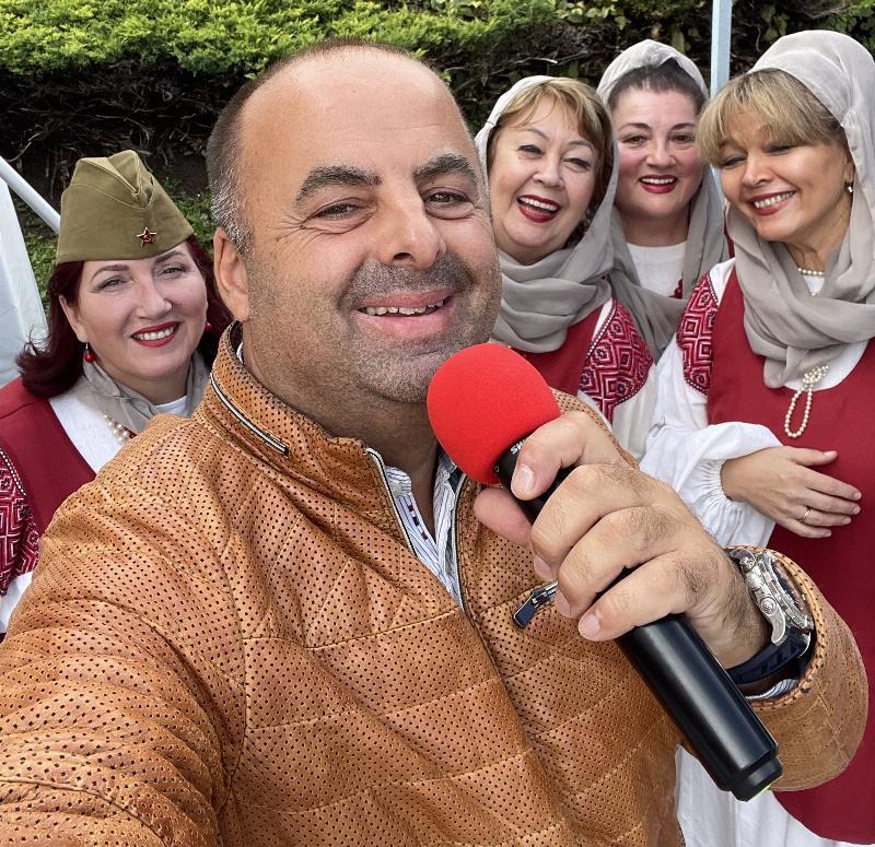 Oslava SNP. Ruska folklorna skupina Dievcata. Jankov vrsok 29.augusta 2021