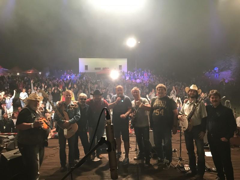 Michal Tučny revival Plzen na Country stope. 15.jula 2017. Dudince.