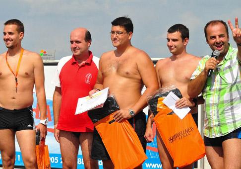 3. ročník majstrovstiev Slovenska v jazde na tobogáne v Aquaparku Senec. 7.8.2011, Senec.