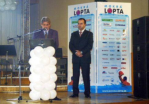 Vyhlásenie najlepších vodnopólistov - Mokrá Lopta.