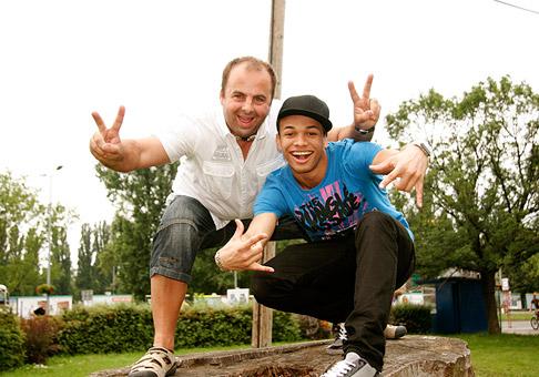 S Benom Christovaom v Bratislave 20.6.2010.
