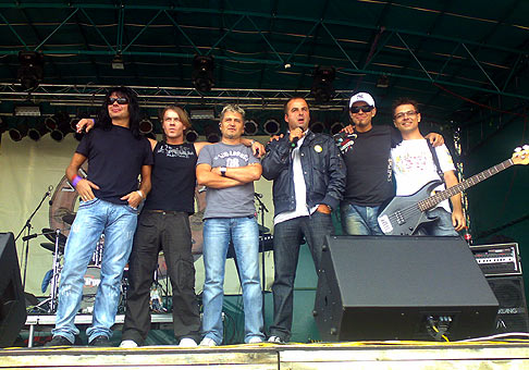 So skupinou Argema na Bierfeste Skalica 16.8.2008