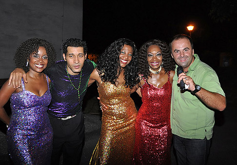 Boney-M v amfiteátri v Nitre. 22.8.2010.