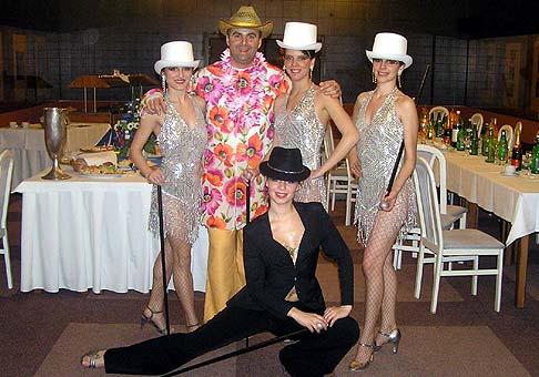 Grupo Caliente počas 7.ročníka Karnevalu spoločnosti Whirpool.