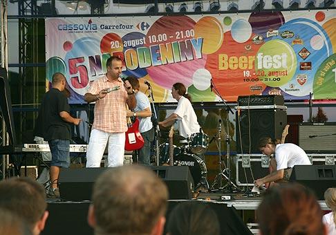 5. Narodeniny OC Cassovia a Beerfest v Košiciach. 19 - 20.8.2006.