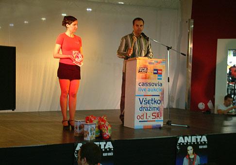 Live aukcie, Október 2005, Cassovia Košice.