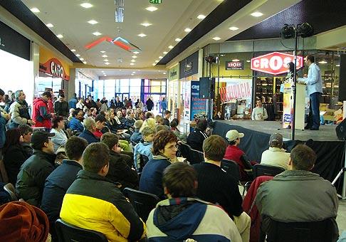 Live aukcie v Cassovii v Košiciach.
