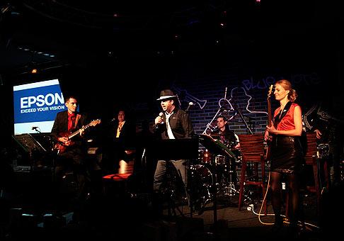 Popstar Night - spoločnosti Comtec z Nového Mesta nad Váhom. Vystúpenie skupiny Faces. 15.4.2010, Nové Mesto nad Váhom.