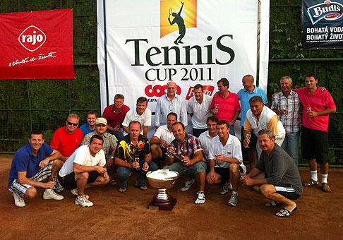 Tenisový turnaj Coop Jednota Slovensko a Figaro pre klientov spoločnosti Coop. 31.8.2011, Stupava.
