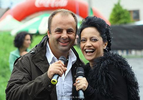 S Luciou Bílou na festivale Červeník. 6.-7.8.2010, Červeník.