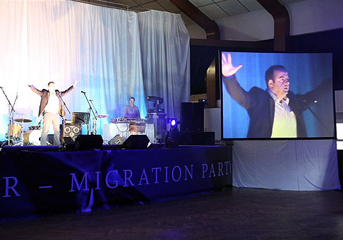 Merger - Migration Party spoločnosti ČSOB v Bratislavskom PKO. 16.4.2010 Bratislava.