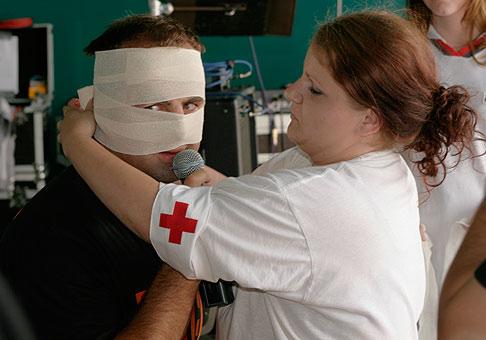 Do súťaží na Dark Dog feste v Skalici sme zapojili aj zdravotníčky.