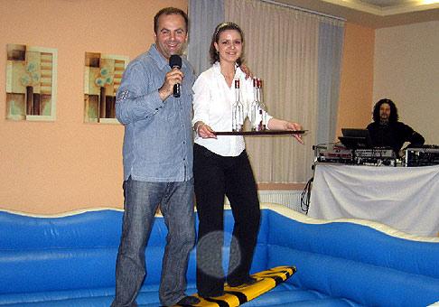 Akcia spoločnosti Ozone laboratories Slovakia v Kongres hotel Dixon v Banskej Bystrici dňa 12.4.2007.