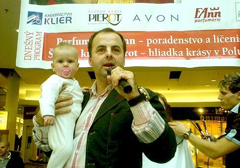 Najmladšia učastníčka Dni krásy v Poluse 9.2.2007
