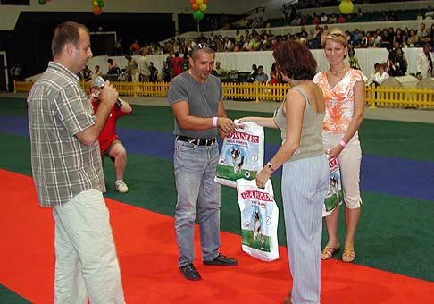 Medzinárodná výstava psov Incheba. 21.8.2004.
