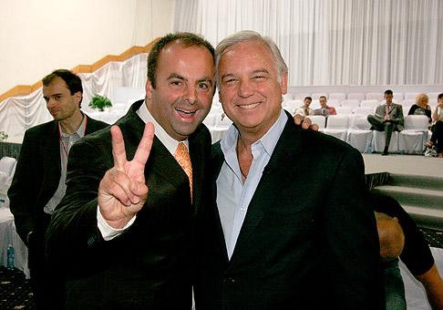 So svetoznámym motivátorom Jackom Canfieldom. 26.6.2010, Bratislava.