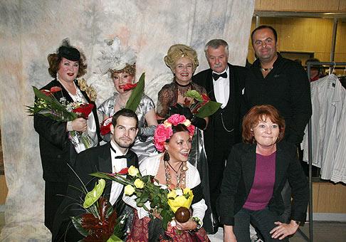 Herci z divadelného predstavenia