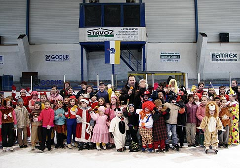 Detský karneval na ľade v Púchove 17.2.2007