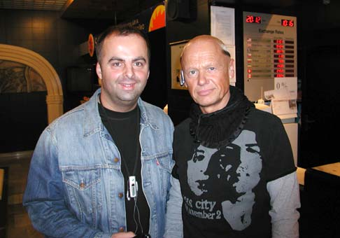 Jiří Korn - stretli sme sa v hoteli Satel, v Poprade.