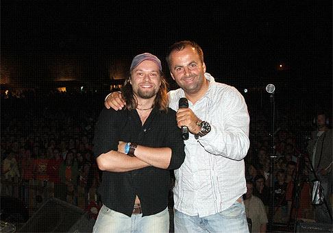 3. ročník Skalica Music Fest. 30.6.2007. Richard Krejčo, kapela Kryštof.
