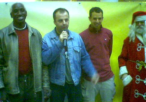 Ibi a Dominik Hrbatý podporili Mikulášsku akciu v Poluse.